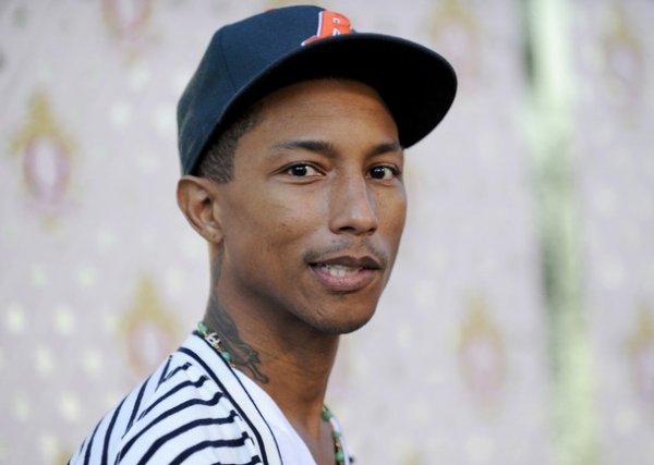 "Pharrell - Soirée de présentation de la liqueur ""Qream"" - Hollywood, CA - 14 juillet 2011"