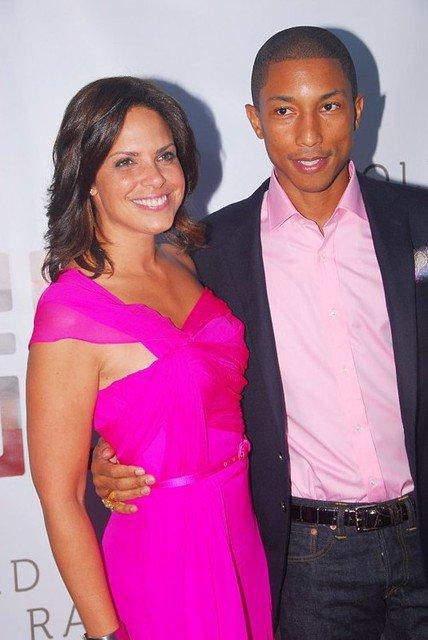 Pharrell - Soirée pour la fondation de Soledad O'Brien & Brad Raymond