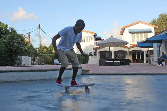 Pharrell - Skate - Miami, FL - Août 2011