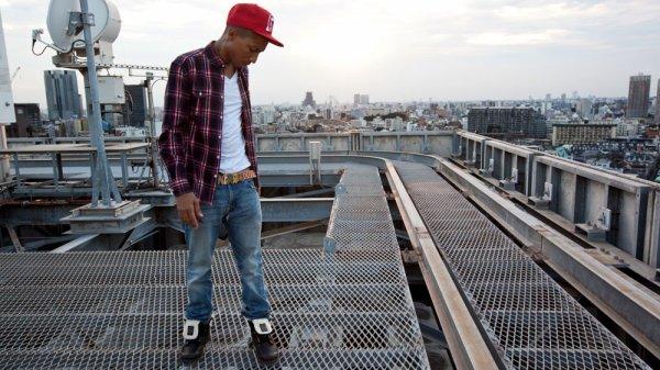 Pharrell - Tokyo Photoshoot pour Palladium par Peter Sutherland