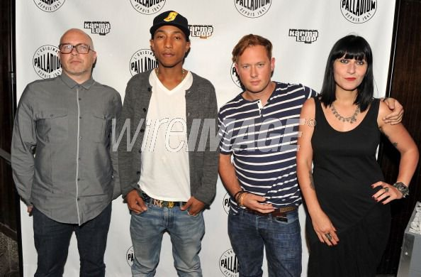 "Pharrell - Avant-Première de ""Tokyo Rising"" son documentaire avec Palladium - The Maritime Hotel, NYC - 31 août 2011"