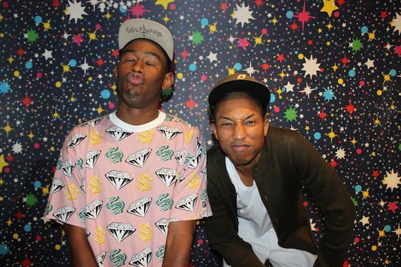 Pharrell & Tyler, The Creator - Fashion's Night Out 2011 @ BBC Store - 8 septembre 2011