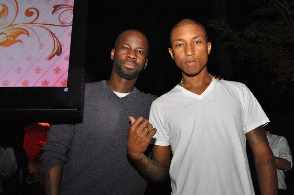 "Pharrell - Soirée de présentation de sa liqueur ""Qream"" - Atlanta - 20 septembre 2011"