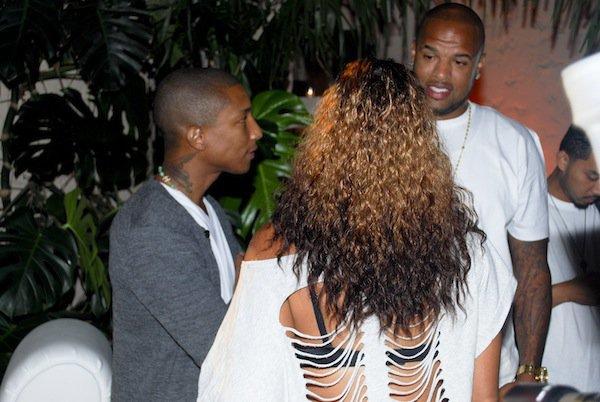 """Pharrell - Soirée de présentation de sa liqueur """"Qream"""" - Houston, TX - 23 septembre 2011"""