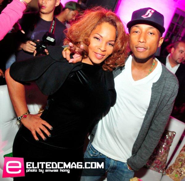 """Pharrell - Soirée de présentation de sa liqueur """"Qream"""" - Washington D.C. - 30 septembre 2011"""
