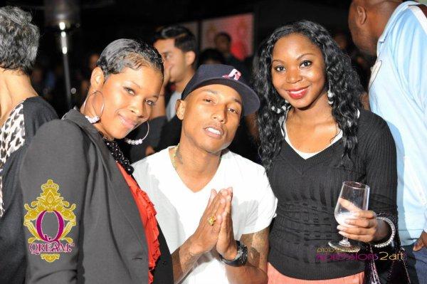"""Pharrell - Soirée de présentation """"Qream"""" - St-Louis, MI- 5 octobre 2011"""