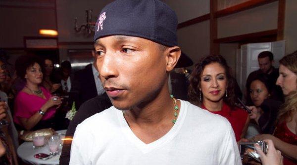 """Pharrell - Soirée de présentation """"Qream"""" - Chicago, IL - 8 octobre 2011"""