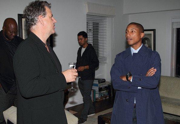 Pharrell - Cocktail pour la fondation Soledad O'Brien & Brad Raymon - Miami,FL - 18 novembre 2011