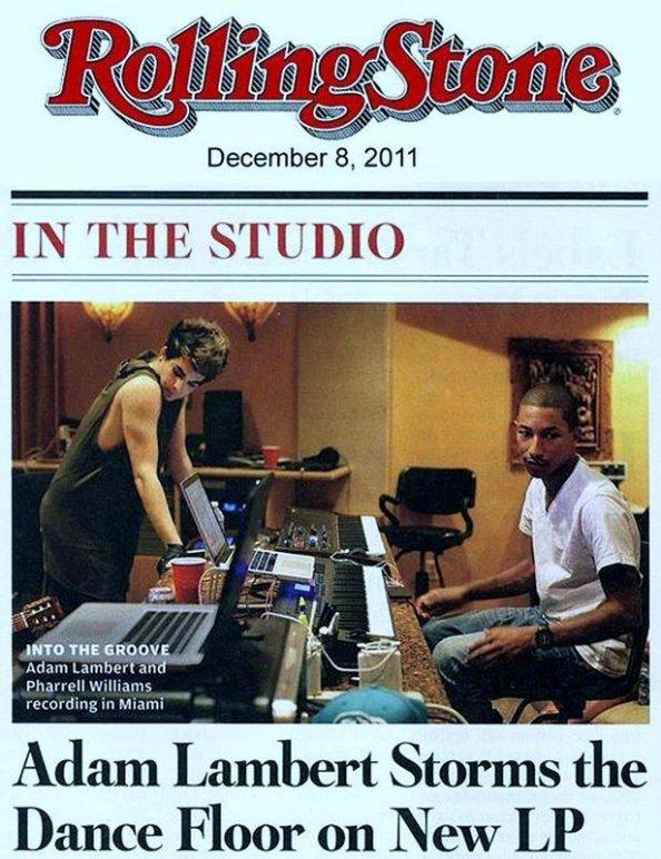 Adam Lambert (American Idol) & Pharrell