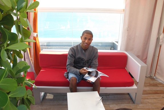 Pharrell - Whitewall Magazine Interview - Miami South Beach, FL - Décembre 2011