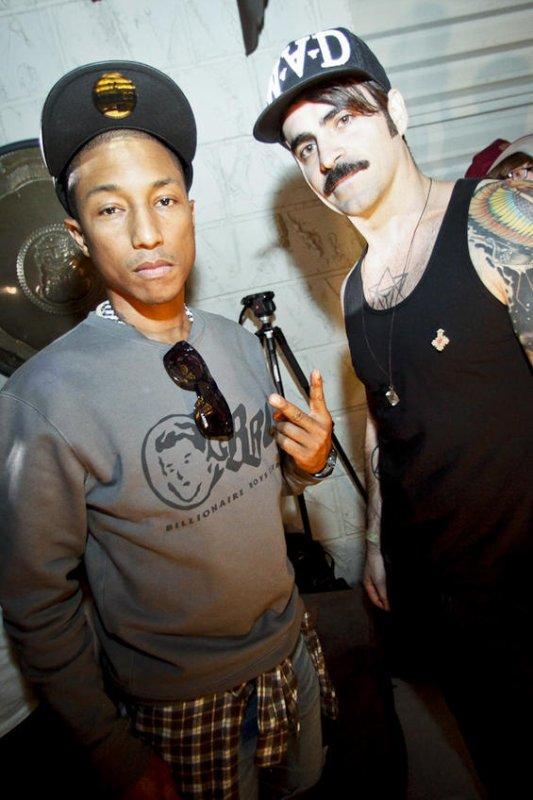 Pharrell - Basel Castle 2011 - Miami,FL - 3 décembre 2011