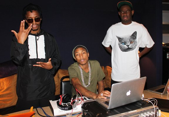 Lupe - Pharrell - Tyler - 12 décembre 2011