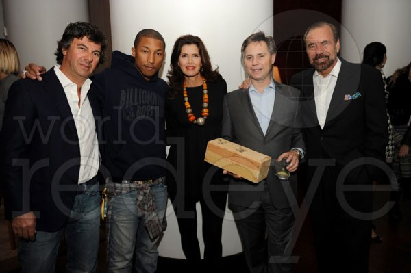 Pharrell - Anniversaire de Jason Binn - Miami,FL - 16 janvier 2012