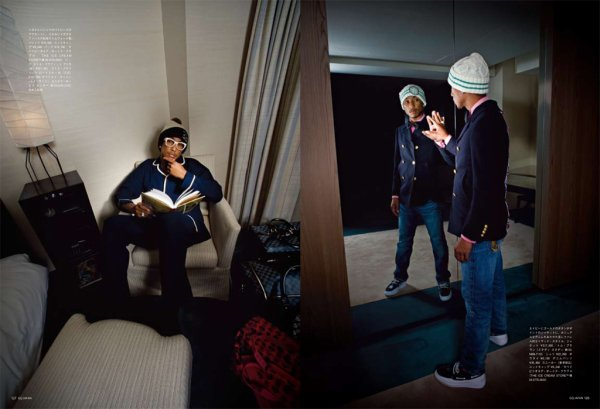 Pharrell par Sean Brandt (2008)