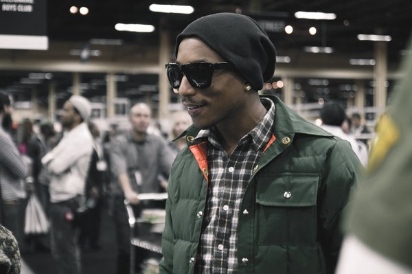 "Pharrell - BBC ""Bee Line""  - Las Vegas - 13 février 2012"
