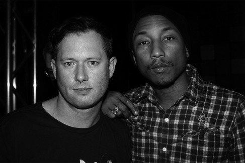 Pharrell - Soirée BBC - Karmaloop avec Greg Selkoe - Las Vegas - 13 février 2012