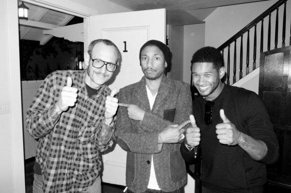Dîner au Chateau Marmont pour Pharrell - Los Angeles, CA - 21 février 2012