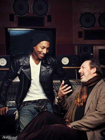Hans Zimmer & Pharrell à propos des Oscars pour le Hollywood Reporter - Février 2012