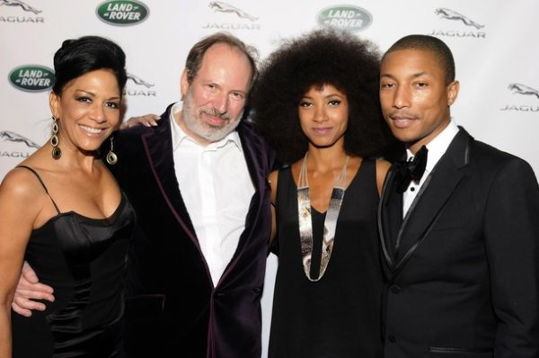 Pharrell - Hans Zimmer's Oscar Party - Hollywood, CA - 26 février 2012