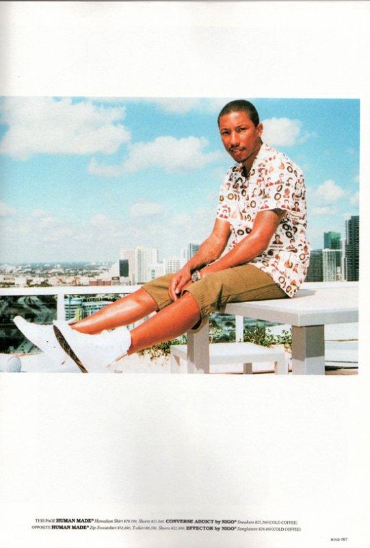 "Pharrell & Nigo - Photoshoot ""Human Made"" Miami, FL - 15 février 2012"