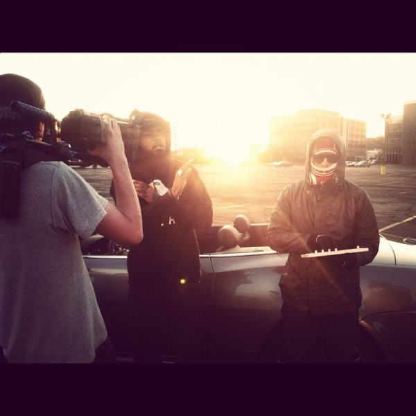 "Chad - Tournage du clip ""Everything New"" - Fin Mars 2012"