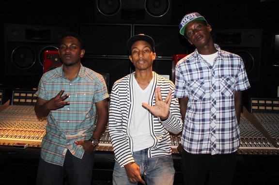Buddy - Staircases (Ft. Kendrick Lamar) (Prod. Pharrell)
