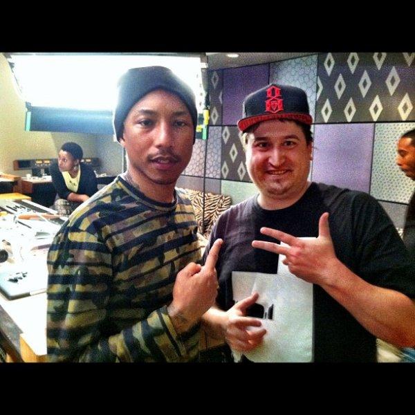 Pharrell & Adrian Sosebee & Ludacris - avril 2012