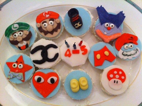 Cupcakes d'anniversaire de Pharrell
