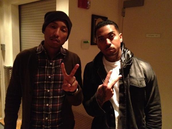 Pharrell avec ... - Avril 2012