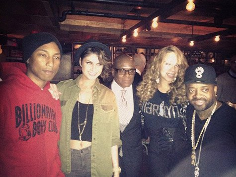 "Pharrell Williams & Jermaine Dupri présentent ""W.I.P Wednesday"" - New York City - 18 avril 2012"