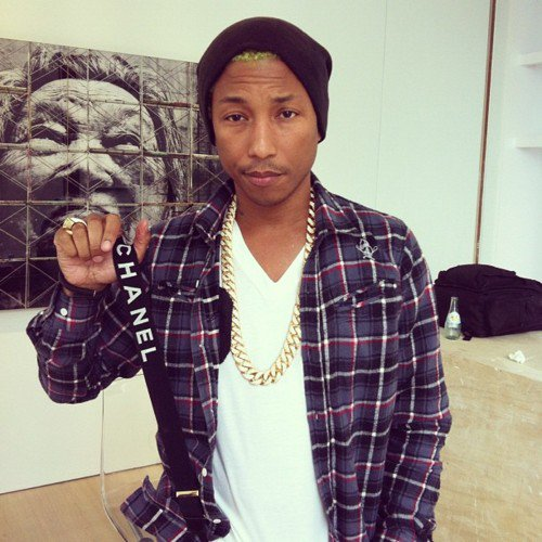 Pharrell - Hong Kong - 26 avril 2012