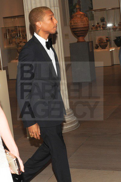 Pharrell - MET Ball - NYC - 7 mai 2012
