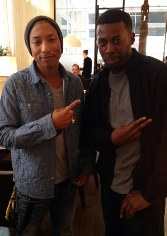 Pharrell & GZA (Wu-Tang Clan) - Manhattan - Mai 2012