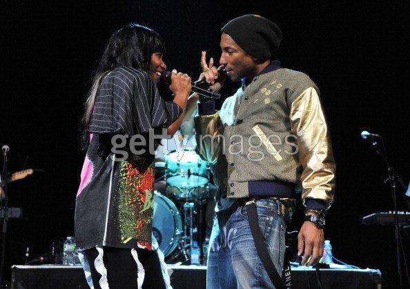 Concert de Santigold - Irving Plaza, NYC - 14 mai 2012