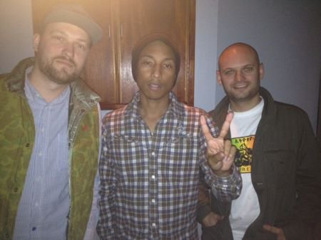 Pharrell & Pitchshifters - 13 mai 2012