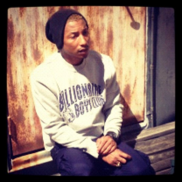 Pharrell - BBC Photoshoot - Paris - 26 mai 2012