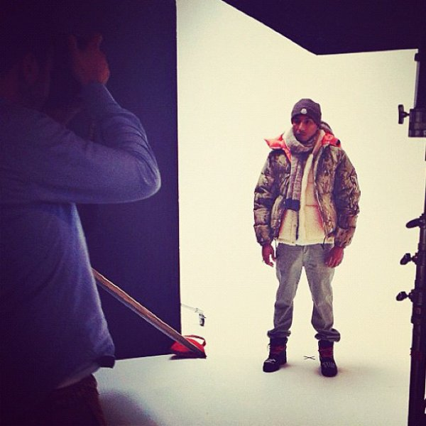 Pharrell - Photoshoot pour Highsnobiety - 4 juin 2012