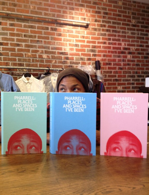 Pharrell - BBC Store NYC - 5 juin 2012