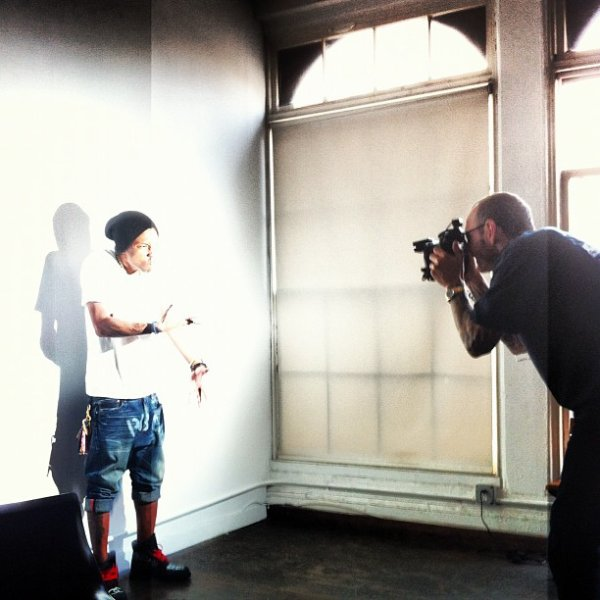 Pharrell - Photoshoot avec Terry Richardson - 7.06.12