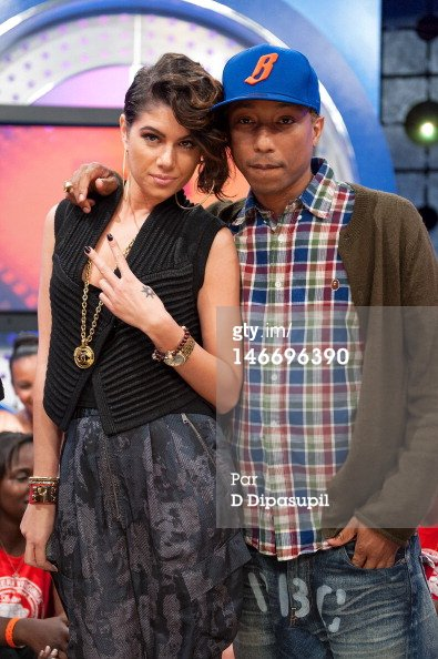 Pharrell - (Emission) BET 106&Park - 20 juin 2012