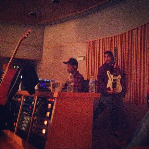 The Neptunes en studio avec ... - 28 juin 2012
