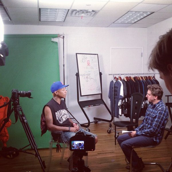 "Pharrell - Interview pour ""Our Time"" - 10 juillet 2012"