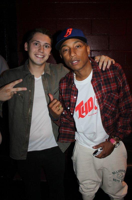 Pharrell & Cris Cab - NYC - 12 juillet 2012