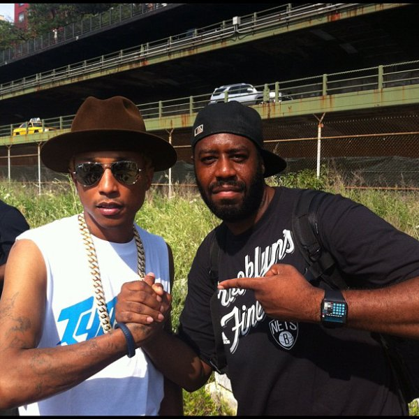 Pharrell - Brooklyn Hip Hop Festival - 14 juillet 2012
