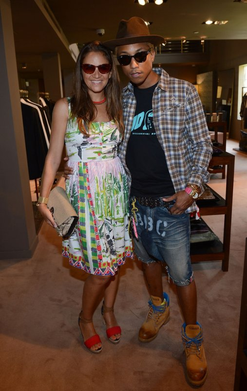 Pharrell - Mercedes-Benz Fashion Week Swim 2013 - Miami, FL - 21 juillet 2012