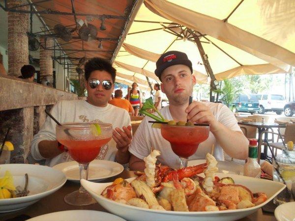 Chad Hugo & Daniel Biltmore - Miami - 25 juillet 2012