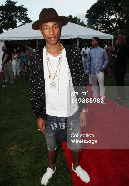"Pharrell - ""New Orleans In The Hamptons Benefit "" Soirée organisée par Soledad O'Brien - Bridgehampton, NY - 27 juillet 2012"
