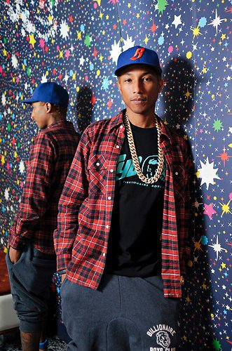 Pharrell - Article dans le New York Times - Août 2012