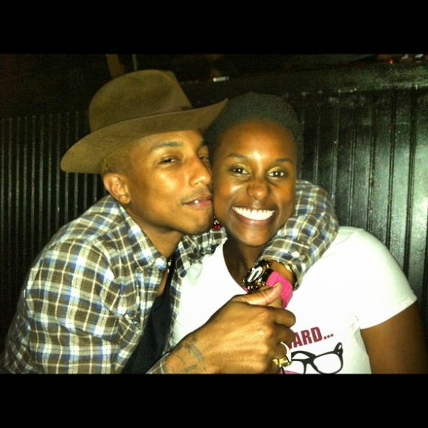 Pharrell & Issa Rae (Awkward Black Girl - i am OTHER) - 10 (?) août 2012
