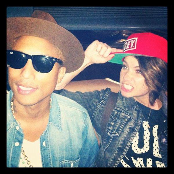 Pharrell en studio avec ... - 14 & 15 août 2012